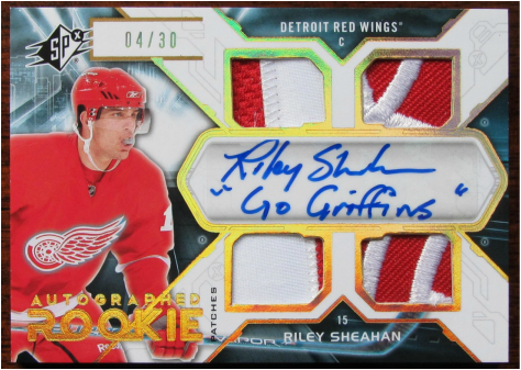 Showcase page of top pulls 3guysnhockeycards for 2 box auto con stanza bonus